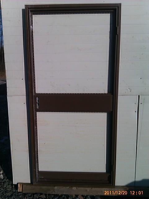 Vedlejší dveře jednokřídlé s ocelovou výplní