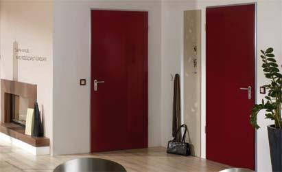 Vnitřní dveře interiér